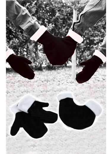 Sevgili Eldivenleri Yeni Model Siyah-Beyaz-Practika